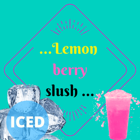 LEMON BERRY SLUSH (ICED ) - Blend & Vape