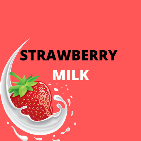 STRAWBERRY MILK - Blend & Vape