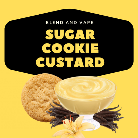 SUGAR COOKIE CUSTARD - Blend & Vape