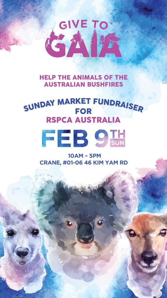 GIVE TO GAIA: ANIMALS OF THE AUSTRALIAN BUSHFIRES