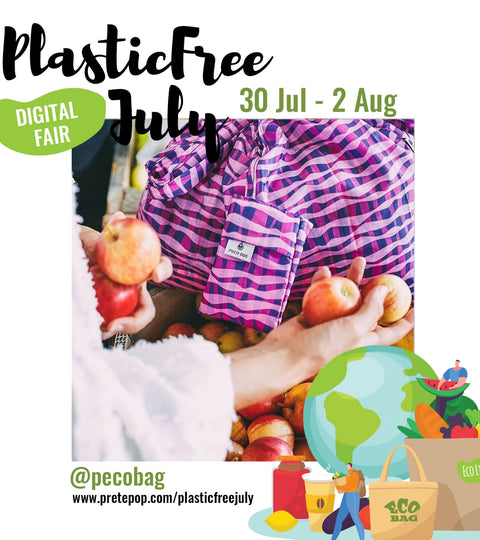 PretePop #PlasticfreeJuly Digital Fair - July 30th - August 2nd 2020
