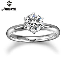 Load image into Gallery viewer, 18K Gold 0.2 CT H-I/SI Round Cut Diamond  Ring