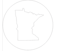 State Profile Cutout