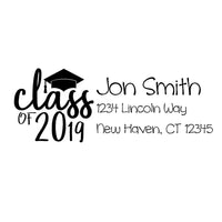 Class of Graduation Stamp
