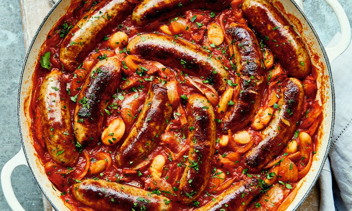 November - Game Sausage Cassoulet