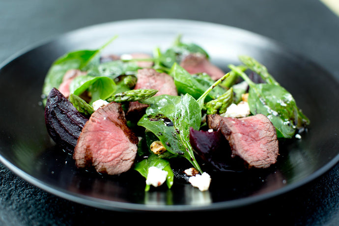 June - Summer Venison Salad