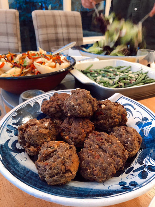 June - Summer Meatballs