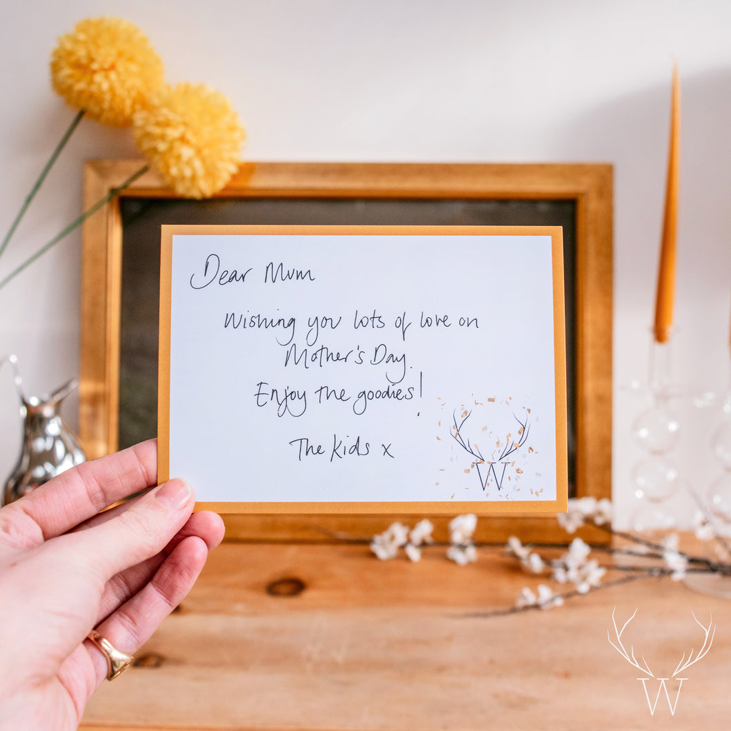 Handwritten Personalised Card