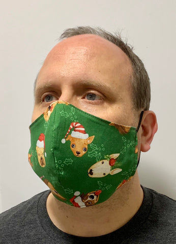 Christmas Dogs! - FACE MASK