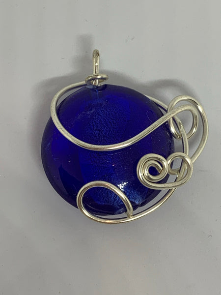 Wire Wrapped Pendants Round