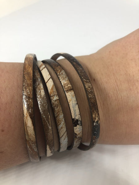 Genuine Leather Wrap Bracelets