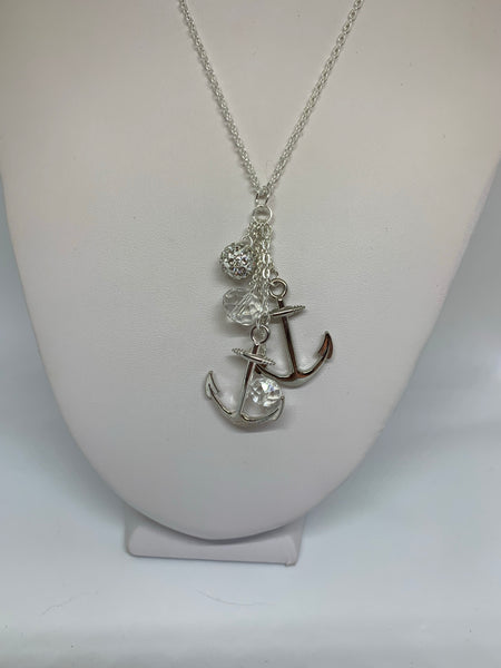 Charm Necklace - Anchors