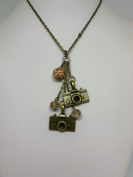 Charm Necklace - Cameras