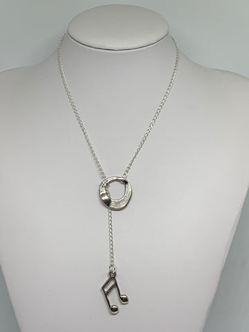 Loop-Thru Necklaces Silver