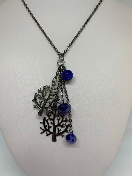 Charm Necklace - Trees