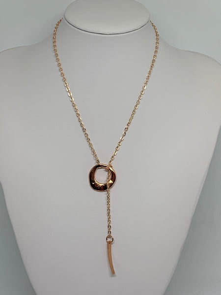 Loop-Thru Necklaces Rose Gold