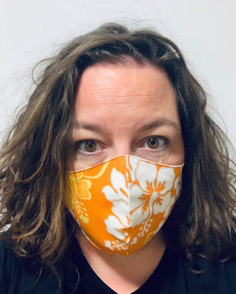 Orange Hawaiian - FACE MASK