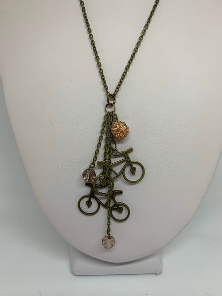 Charm Necklace - Bikes