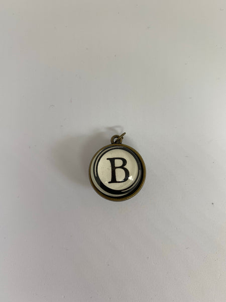 Letter Pendant - Double Sided