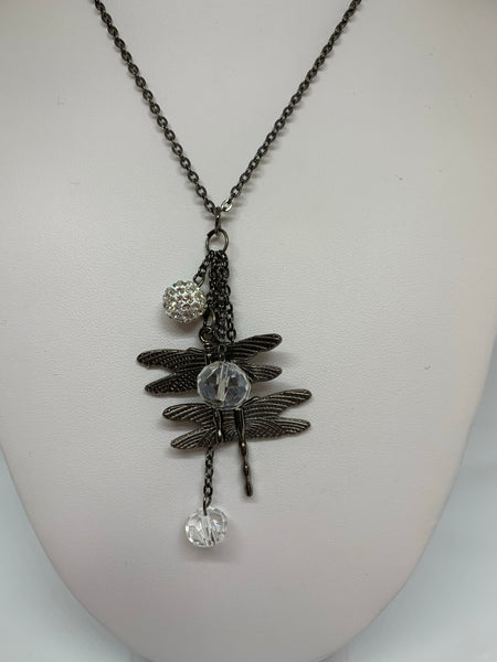 Charm Necklace - Dragonfly