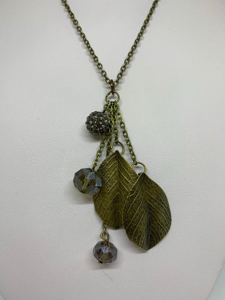 Charm Necklace - Sm Leaves