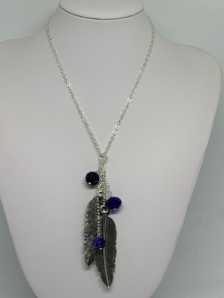 Charm Necklace - Feathers