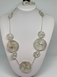 Wickedly Wired Necklace SILVER