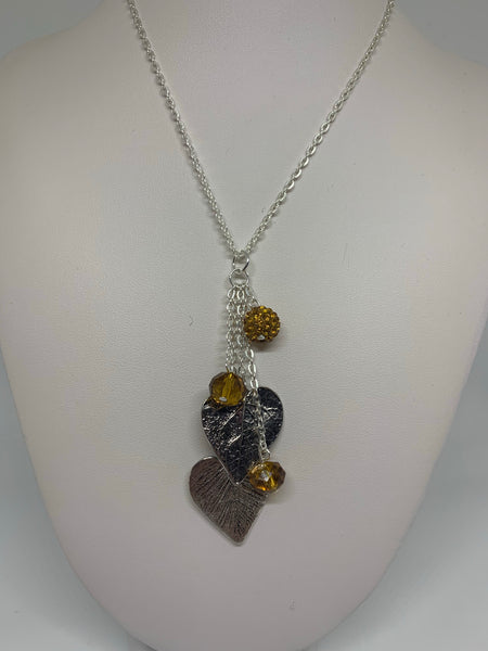 Charm Necklace - Hearts