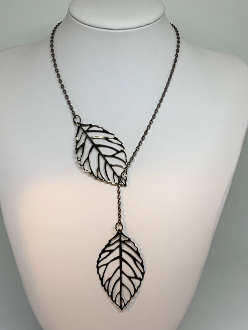 Leaf Loop Necklaces