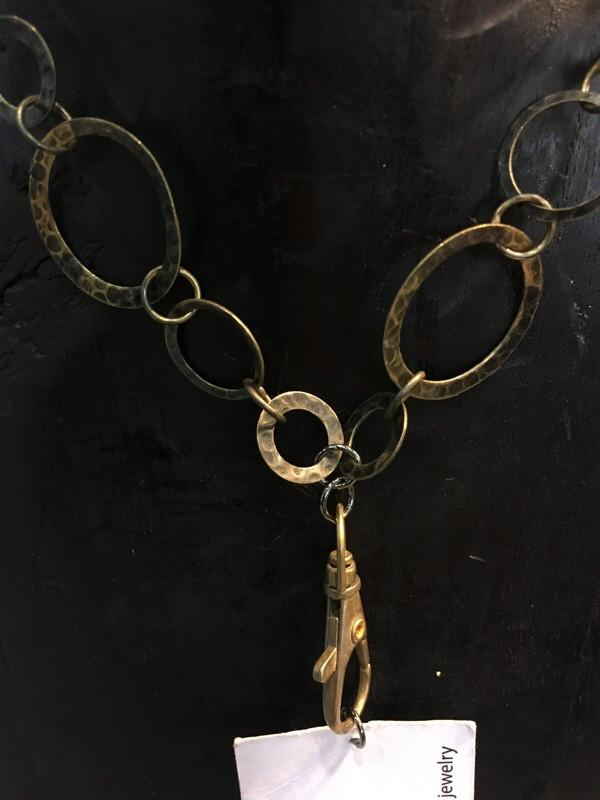 Breakaway Lanyard - Hammered Antique Bronze
