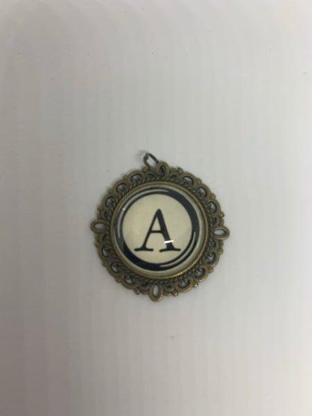 Letter Pendant - Single Sided