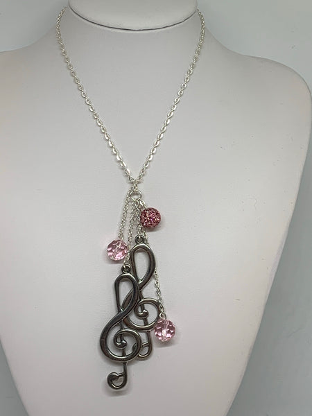 Charm Necklace  - Treble Clef