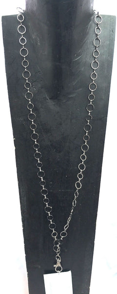 Breakaway Lanyard - Small Hoops Gunmetal