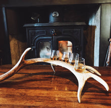 Load image into Gallery viewer, J Boult Designs- Fallow Deer Antler Whisky Flight