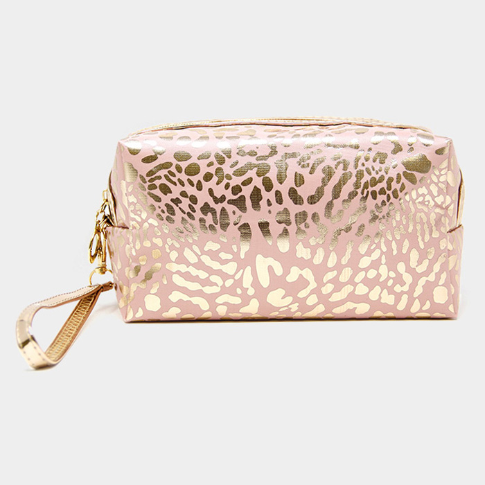 Leopard Pouch - Pink