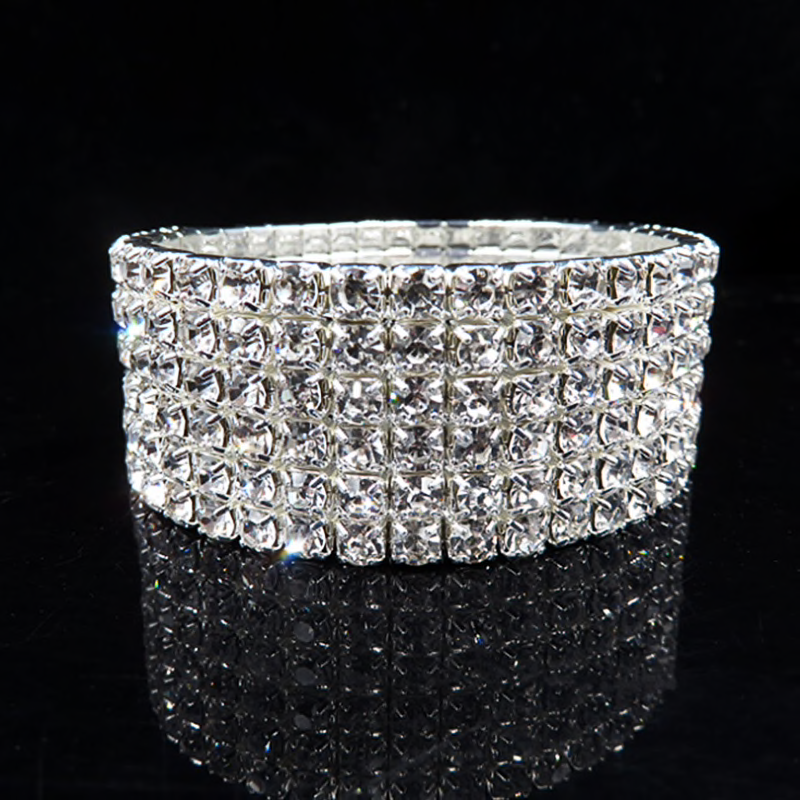Lavish 6 Row Bracelet