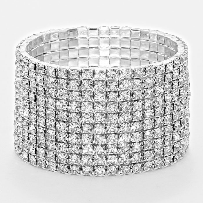 Lavish 10 Row Bracelet