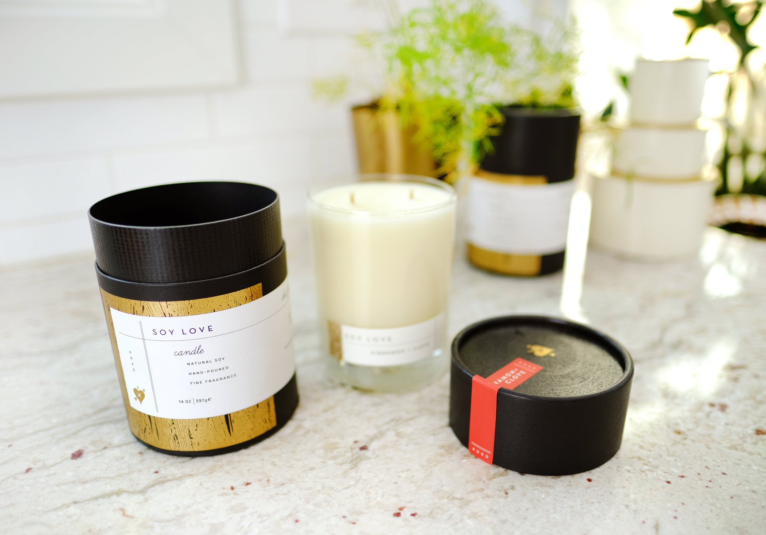 Soy Love 14oz. Candles