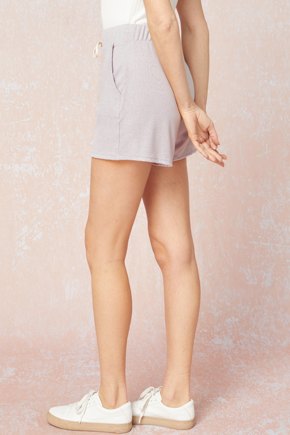 Eloise Ribbed Short