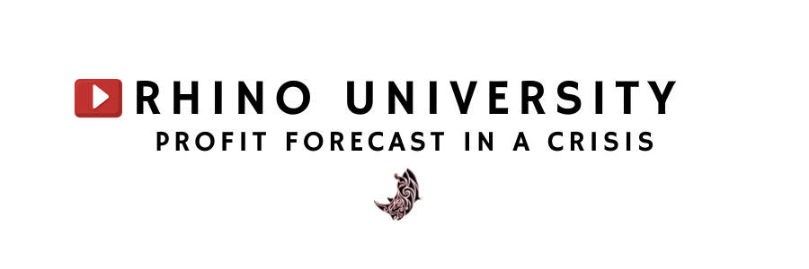 Rhino University EP7: Profit Forecast in a Crisis