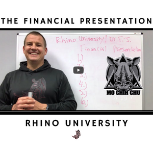 Rhino University EP4: Financial Presentation