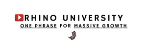 Rhino University EP 15: The One Phrase for MASSIVE Impact