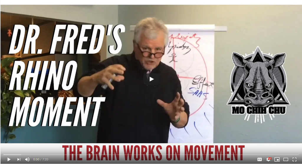 Dr. Fred's Rhino Moment: Movement