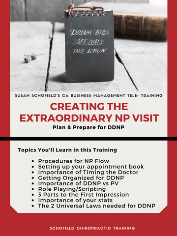 CA Training: Creating the Extraordinary NP Visit