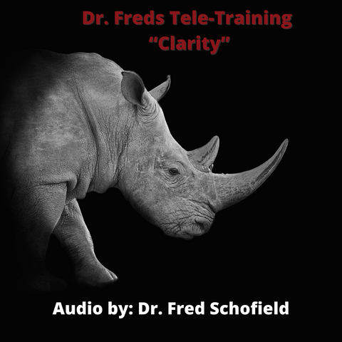"Dr. Freds Tele-Training- ""Clarity"""