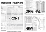 Insurance Travel Cards