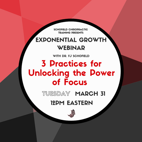 Webinar: 3 Practices for Unlocking the Power of Focus