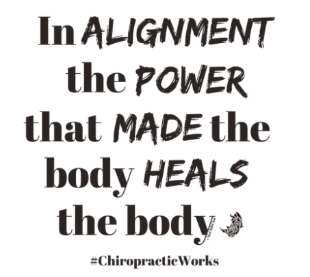 Car Stickers: In Alignment the Power the Made the Body Heals the Body