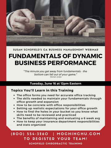 CA WEBINAR: Fundamentals of Dynamic Business Performance