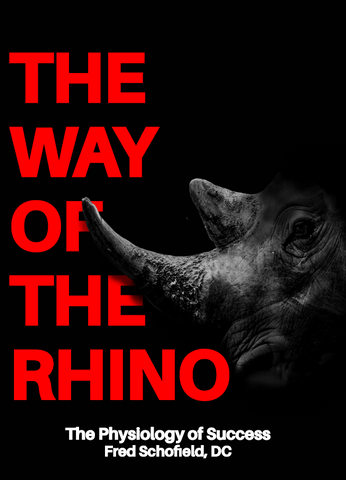 The Way of the Rhino by Dr. Fred Schofield
